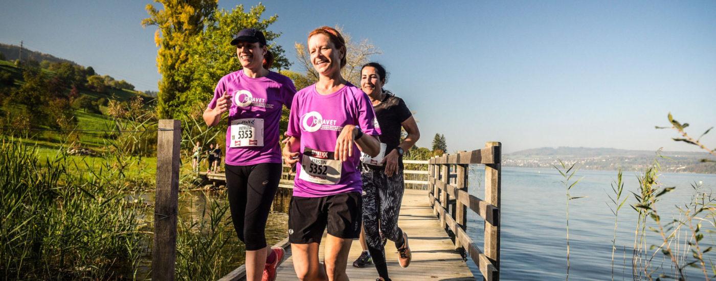 Laufen für das Dravet Syndrom am Hallwilerseelauf